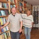 New independant book shop opening in Holt, The Holt Bookshop, Lion Court Yard Holt. Pictures: BRITTA