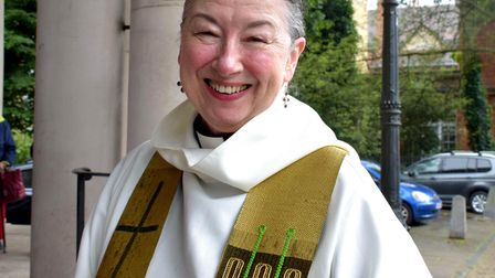 Rev'd Caroline Shuttleworth is moving on from St Mary's after five years.