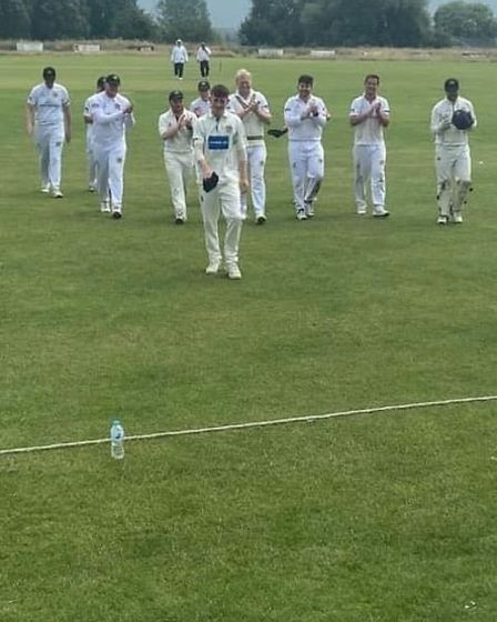 ESCC maintained top spot in the Cambs & Hunts Premier League after a win on Saturday.