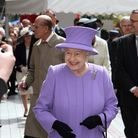 HRH The Queen's visit to Exeter. Photo by Terry Ife ref exe 6874-18-12TI To Order a copy of this pho