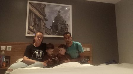 Family of four in St Albans Travelodge after months of problems in Hightown property.