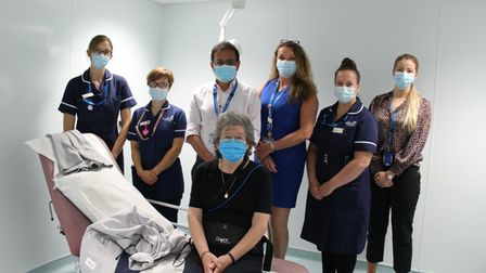 Pill-cam is being trialled at the James Paget University Hospital Gorleston