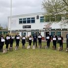 Year 8 students at Onslow St Audrey's graduating from the 'Brilliant Club'.