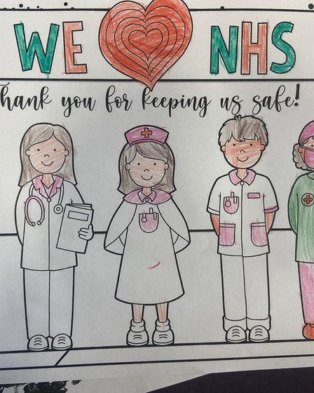 Longmeadow NHS colouring competition