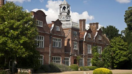 Rothamsted Manor in Harpenden.