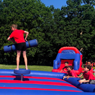 The Year 6 Gladiator Game at St John Fisher School.