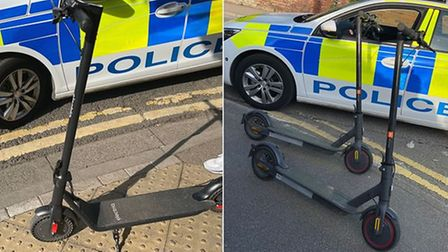 Police have been cracking down on the use of illegal e-scooters in Wisbech.