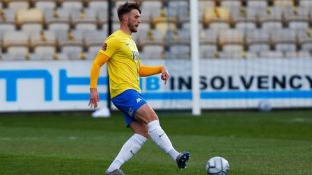 Sam Sherring of Torquay United during the National League match between Torquay United and Aldershot