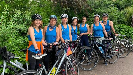 The Muswell Hill mums - and headteacher Helen Style - who are gearing up to cycle from London to Brighton