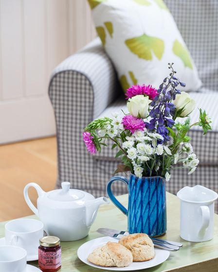 Fresh flowers are an easy way to improve a property's appearance.