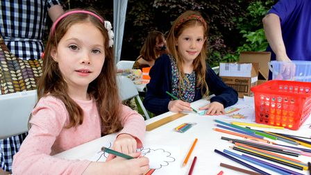 Family Fun Day at Keats House as part ofthe Hampstead Summer Festival.