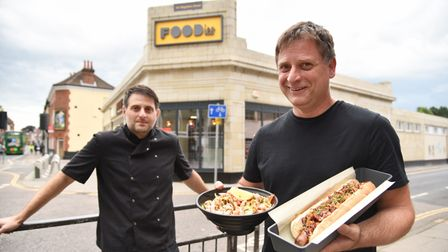 Foodies restaurant opens in Magdalen Street, restaurant style food that customers can take away. The