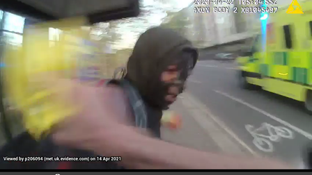 CCTV taken from the surrounding areas, showed him to be in the vicinity at the time of the attacks.