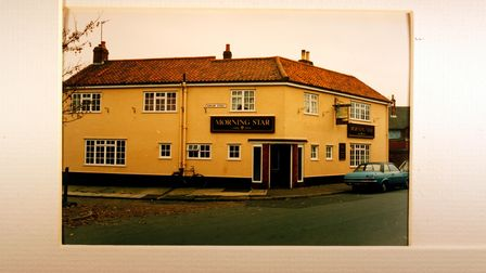 The former Morning Star pub building on Southwell Road, Norwich.