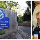 The entrance to the upper school in West Heath Road and, right, Melissa Remus, Heathside's headteach