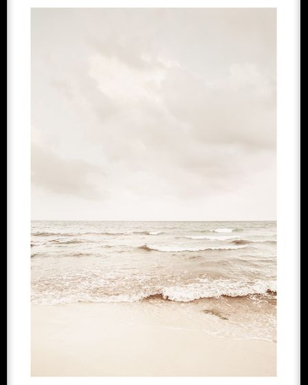 Calming Sea poster from Molly-Mae Hague's collection with Desenio.