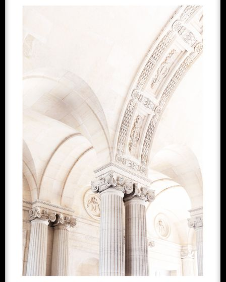 Magnificent Arches poster from Molly-Mae Hague's collection with Desenio.