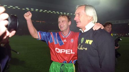 NORWICH CITY MANAGER MIKE WALKER and JEREMY GOSS