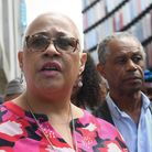 Mina Smallman, the mother of Nicole Smallman speaking outside the Old Bailey in London after Danyal