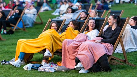 Catch up with friends and enjoy a film under the stars this summer.