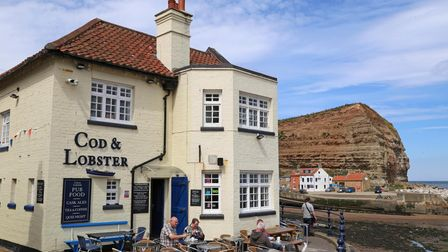 Cod & Lobster pub, Staithes