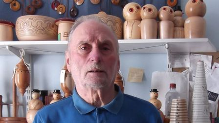 Victor Cracknell, guild chairman and worthy master of theBlakeney Guild of Many Crafts.