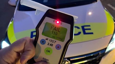 Drink driver in Wisbech was three times over the limit