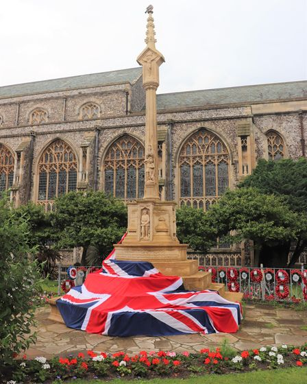 Cromer war memorial in the centre of the seaside has turned 100