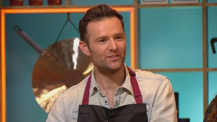 Harry Judd in episode one ofCooking With The Starson ITV and ITV Hub.