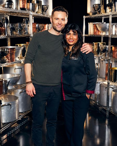 Harry Judd is mentored by Nisha Katona on Cooking With The Stars on ITV and ITV Hub.