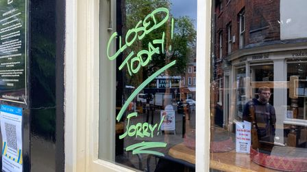 The Murderers Pub, in Norwich, has made the decision to close after two staff tested positive for the coronavirus.