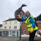 Ottery's town clean-up gets under way