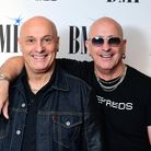 Fred and Richard Fairbrass of Right Said Fred arriving for the BMI London Awards 2018 at the Dorches