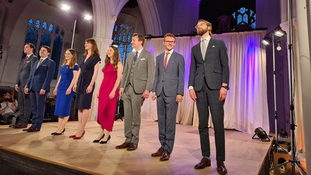 A smartly dressed octet: Voces8 at Thaxted Parish Church
