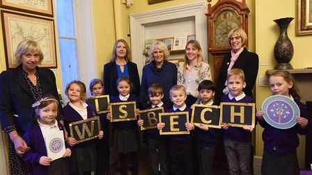 Wisbech Museum visit by The Duchess of Cornwall