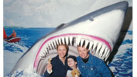 Marina and Alexander Litvinenko, only holiday with son Anatoly