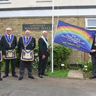 Lowestoft Freemasons joined with masonic lodges throughout the country to thank NHS staff on its special birthday