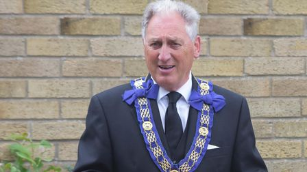 Bob Lee Assistant Provincial Grand Master in the Province of Suffolk.