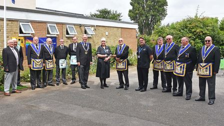Lowestoft Freemasons joined with masonic lodges throughout the country to thank NHS staff on its special birthday.