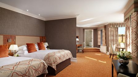One of the many luxury rooms at the Slieve Donard Resort and Spa.