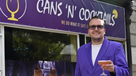 Cans 'N' Cocktails opens on Prince of Wales Road when Andre Smith will be mixing the cocktails Byli