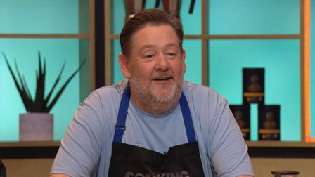 Johnny Vegas on Cooking With The Stars.