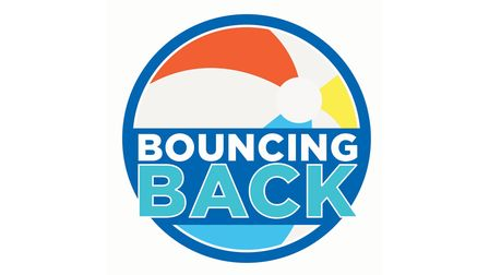 The Bouncing Back campaign logo.