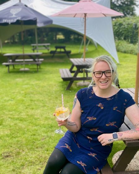 Jessie Petrie, general manager of the Kings Head at Letheringsett,