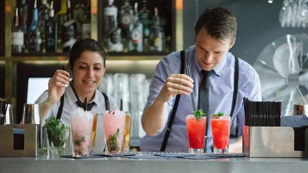 The Gainsborough Bar is not your average hotel bar