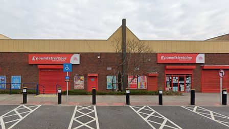 The former Poundstretcher store in Newbury Park.