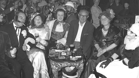 OTHERSSING UP AND DRINK UP...a Gorleston Pavilion audience enjoying old-time music hall.Picture: