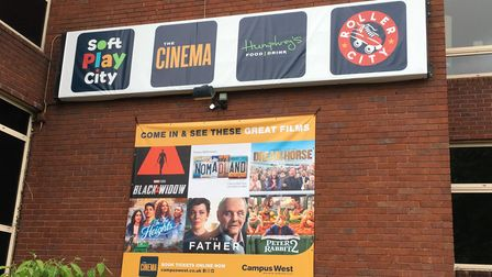 Forthcoming films at Campus West in Welwyn Garden City