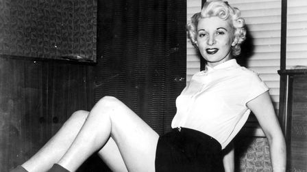 12th July 1955 London Ruth Ellis who is due to be hanged tomorrow at 9am at Holloway Prison for the
