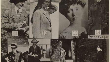 Surveillance images of suffragettes held at Holloway Prison and Manchester Prison